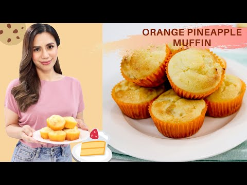 Orange Pineapple Muffin