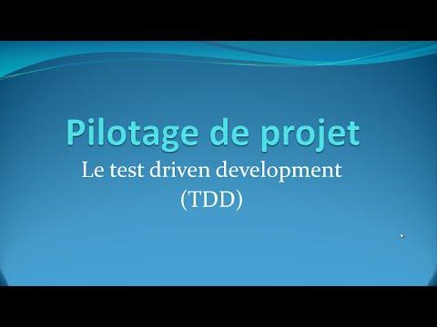 Le Test-Driven Development (TDD) - Pilotage De Projet