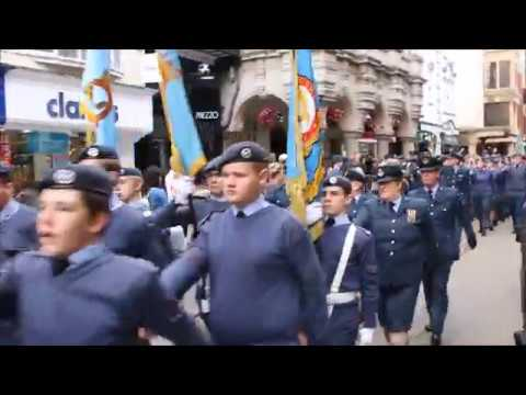 Battle of Britain Parade Exeter 2018