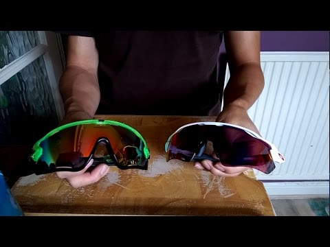 Fake Oakley Jawbreaker V Genuine Oakley Radar EV