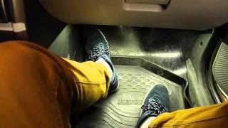 видео Подсветка ног приора. Установка подсветка пола (ног) в Приоре