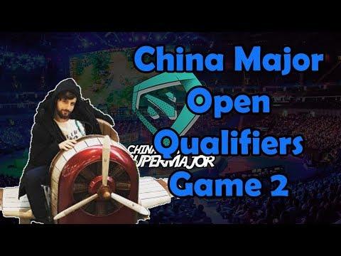 CHINA SUPERMAJOR OPEN QUALIFIERS - GORGC BULLDOG AKKE - GAME 2 (Gorgc Dota Highlights)
