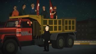 Hande Fırat'ın çizgi filmi yapıldı