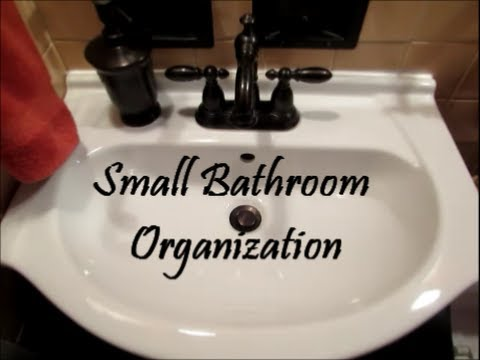 Bathroom Organization Series Countertop And Under The