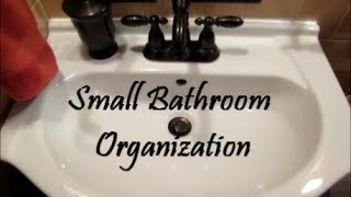 Bathroom Organization Series: Countertop And Under The Sink