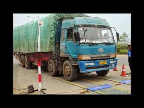 Trạm cân xe tải xách tay tại Việt Nam