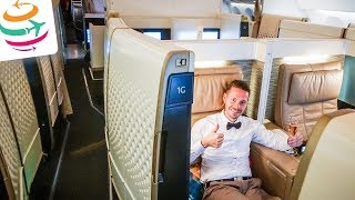 ETIHAD First Class Suite (ENG) 787-9 Dreamliner | GlobalTraveler.TV