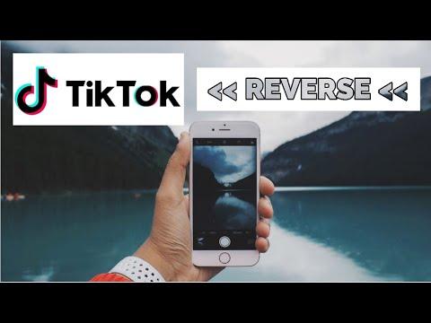 How To Watch Tiktok Videos In Reverse 2021 Basic Tutorial 2 Ways Rewind Tik Tok Tips Tricks Youtube