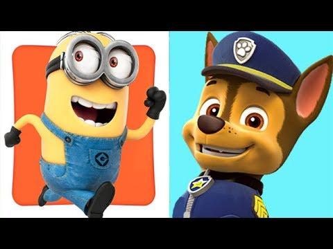Despicable Me Minion Rush Vs Paw Patrol Rescue Run Youtube