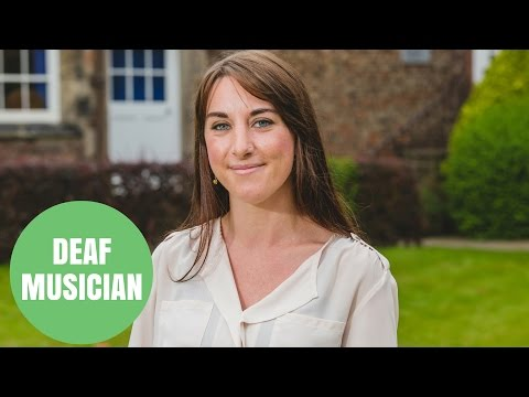 Woman born with profound deafness becomes talented musician