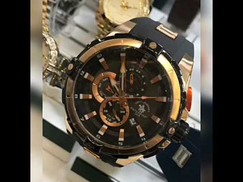 Güldağlar Saat Santa Barbara Polo erkek kol saati serisi