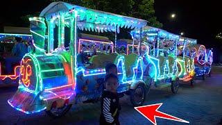 Download Zafi Naik Odong Odong Lampu Cantik Kereta Malam, Kapal, Gajah