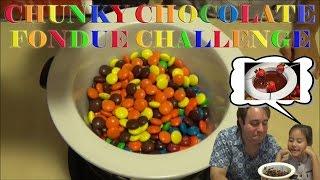 Chunky Chocolate Fondue Challenge