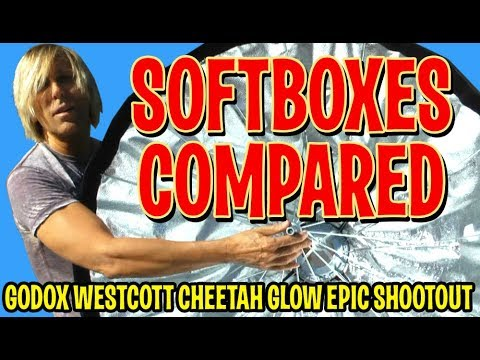 Epic Softbox Shootout- Godox Cheetah Westcott, Which is best for outdoor location photography?