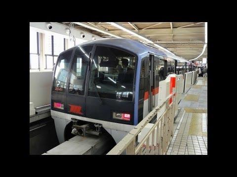 東京モノレール羽田空港線(羽田空港第2ビル~モノレール浜松町)前面展望(Scenery Movie of Tokyo Monorail)