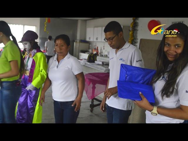 FIESTA NAVIDEÑA NIÑOS DE HUELLITAS GANE JAMUNDI
