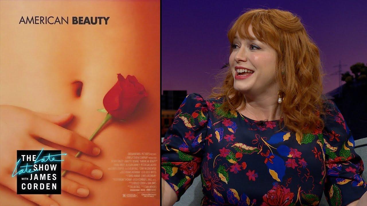 Christina Hendricks Is The 'American Beauty' Hand