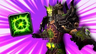WARLOCK Feeds Him CHAOS BOLTS! (5v5 1v1 Duels) - PvP WoW: Battle For Azeroth 8.1