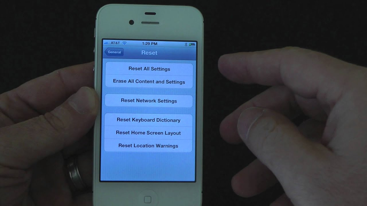 restore iphone without itunes how to restore iphone to factory settings without itunes 16017