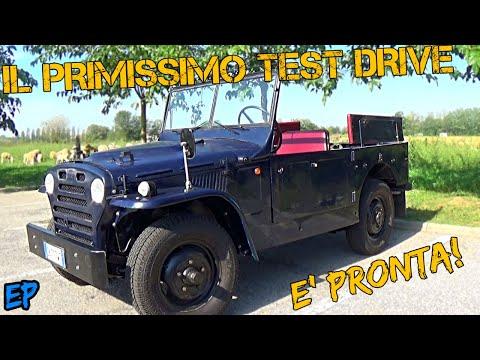 Il Primo Test Drive Sulla Campagnola Dopo Il Restauro!