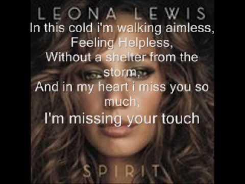 Leona Lewis-Homeless w/Lyrics