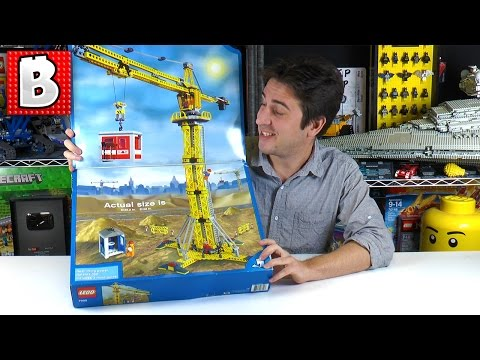 Lego Crane 7905 Full Live Stream Build!
