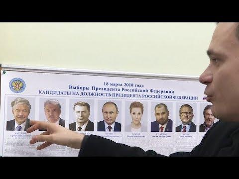 Путин против Собчак,