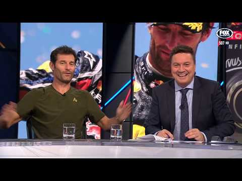 Mark Webber on his stellar career | The Back Page