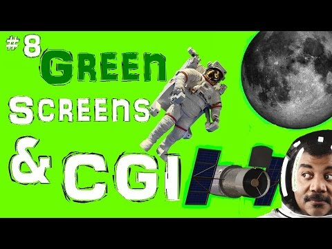 The NASA Top Ten - #8 - Green Screens & CGI