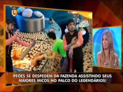 Marcos Mion analisa momento de Raquel Pacheco em festa #arquivolegendários