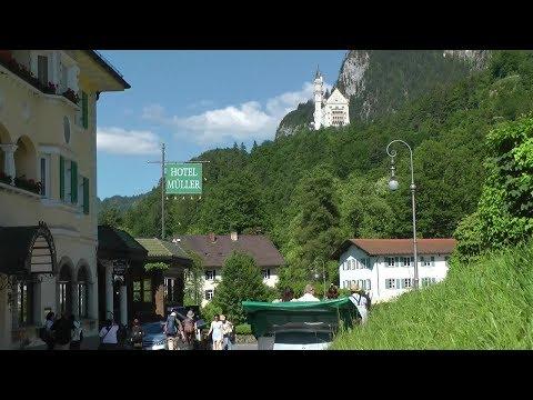 Germany Allgäu region - Schwangau the village of the king castles