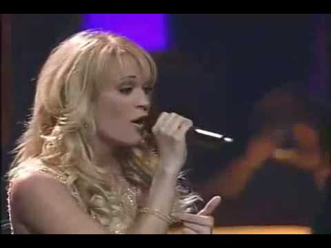 Carrie Underwood performs Last Name during Opry Live