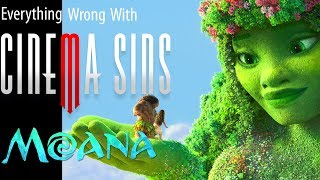 Everything Wrong With CinemaSins: Moana in 15 Minutes or Less Copyright Edition