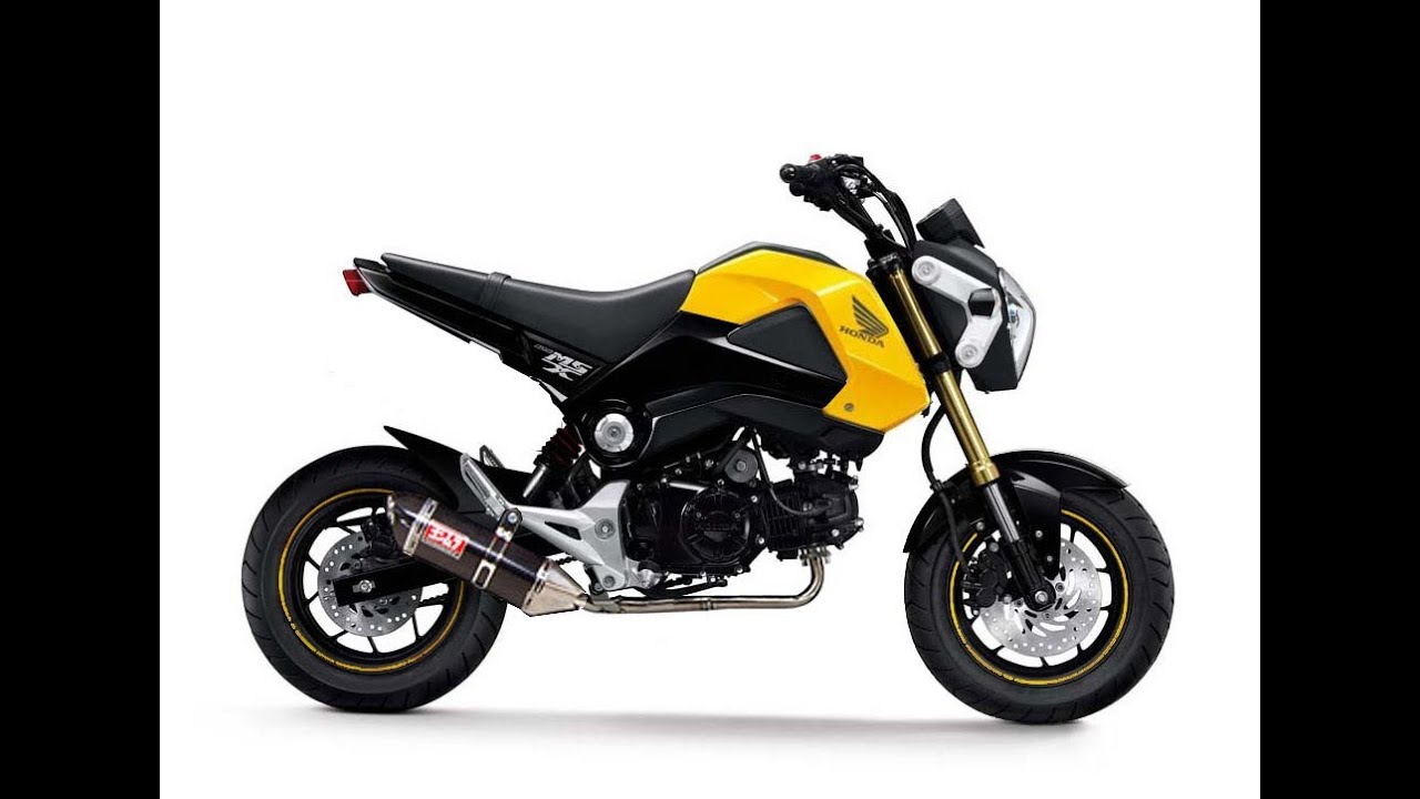 Honda Grom Review >> Honda Grom/Msx 125 review part 2 - YouTube
