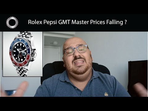 Rolex Pepsi GMT Master II Prices FALLING ?  RIght Time To Buy One ?