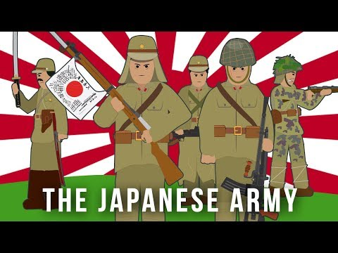 WWII Factions: The Japanese Army