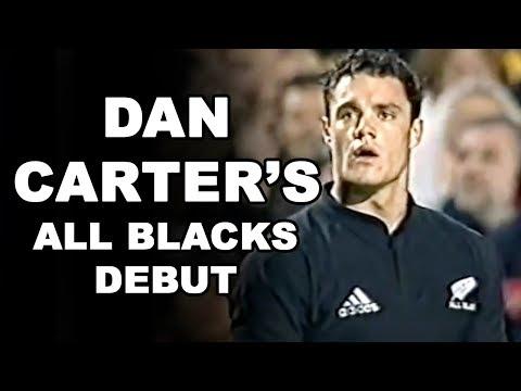Dan Carter's All Blacks Debut