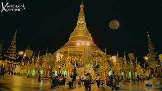Burma 1 Rangoon and the Shwedagon Pagoda HD