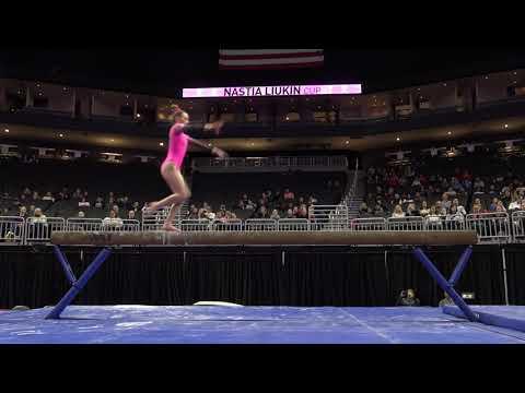 Holly Snyder - Balance Beam - 2020 Nastia Liukin Cup