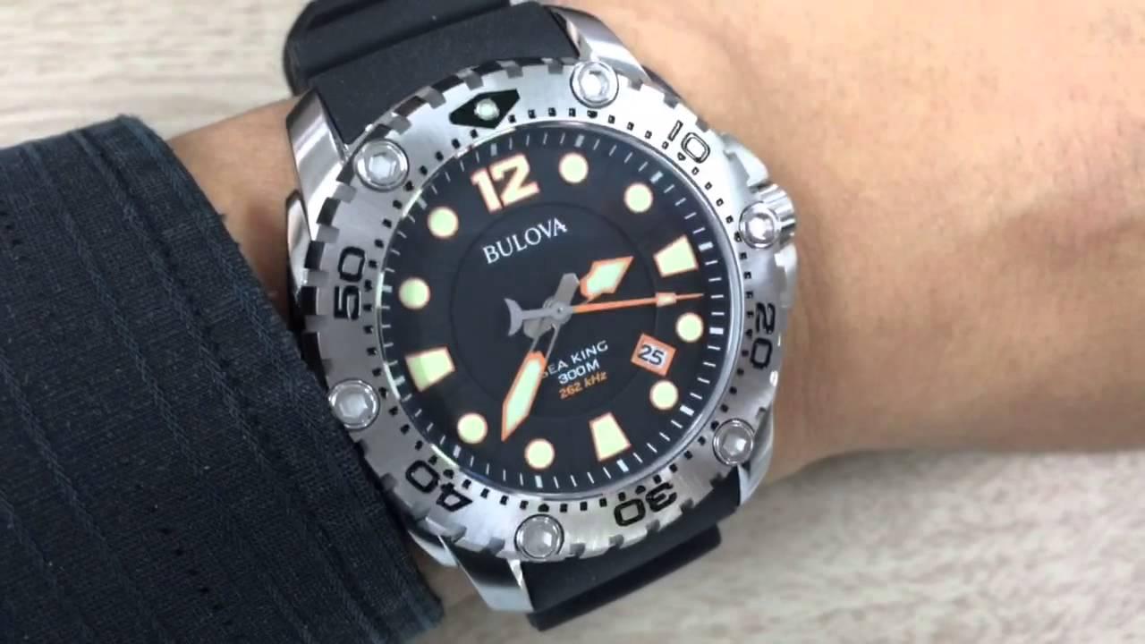 Bulova Sea King 262kHz - YouTube 6a797b3b3d