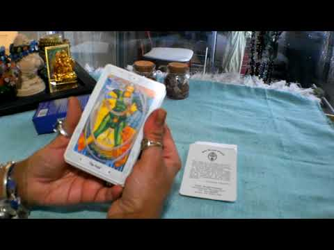 🔵🔵🔵Deck Review: Thoth Tarot By Aleister Crowley