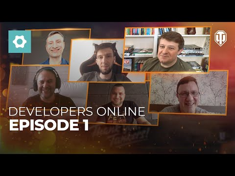 Developers Online. Episode 1 (The Early Years of World of Tanks)