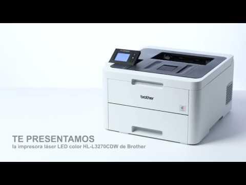 Product tour HL-L3270CDW. Impresora láser LED color