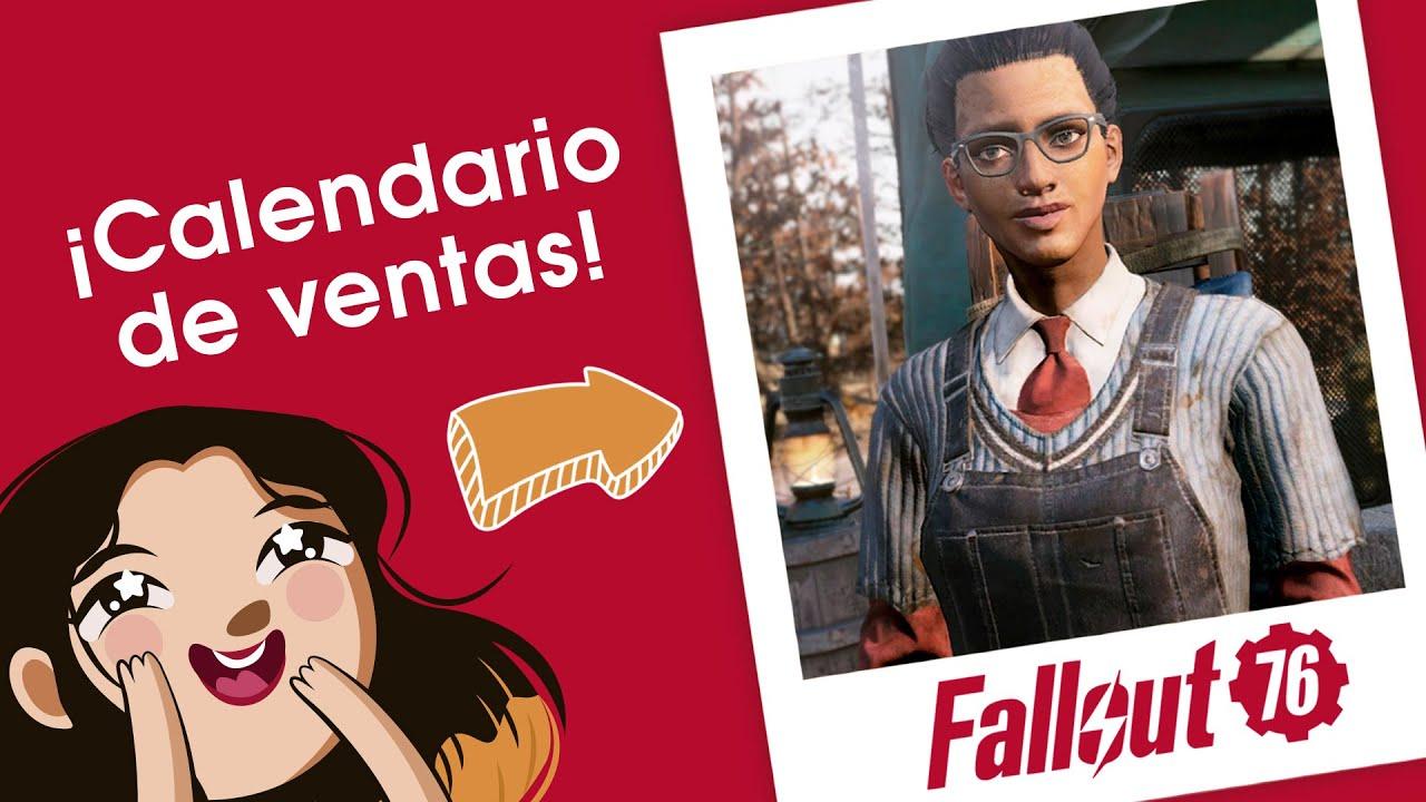 Clase 101 | Calendario de ventas de Minerva 2021 | Fallout 76