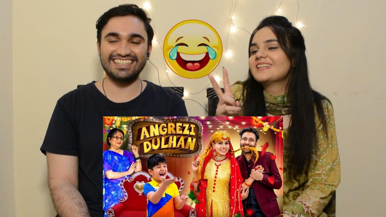 Download Pakistani reaction to Angrezi Dulhan latest   BakLol Video   Desi H&D Reacts