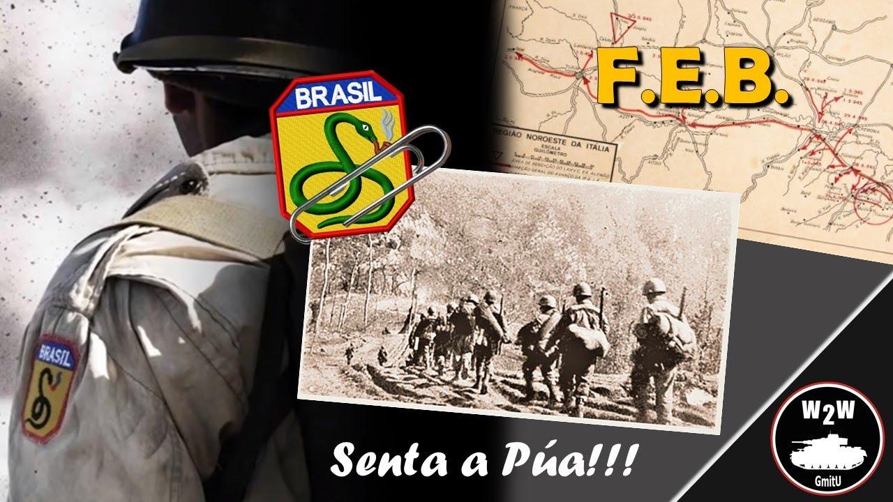 🇧🇷 Força Expedicionária Brasileira - Segunda Guerra Mundial