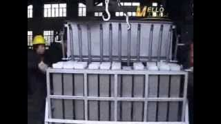 Manufacturing process of block ice