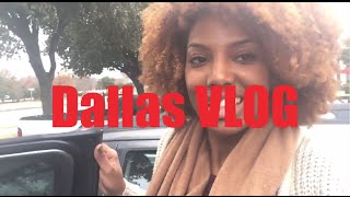 Settling Into Dallas Vlog | Visitors Visitors Visitors!