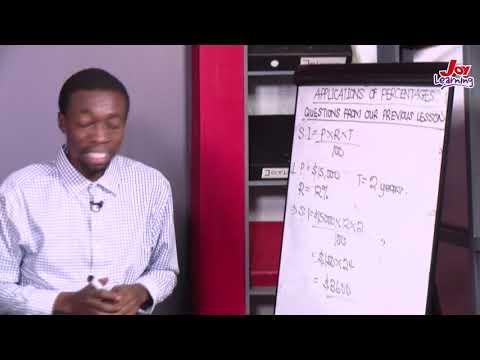 Core - Mathematics - Simple Interest - (02/06/2021)