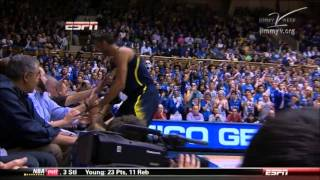 Michigan v Duke: Rebounding Foul, Dead Ball Actions and Resumption After Administration